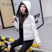 <b>Brieuces 2018</b> Hooded Women <b>Winter Jacket</b> Double Sided Wear ...