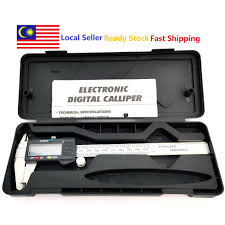 "Stainless Steel LCD Digital Caliper Vernier Caliper <b>6</b>"" <b>150mm</b> ..."