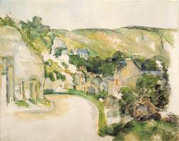 critics and other commentators a turn in the road at la roche guyon by paul cezanne