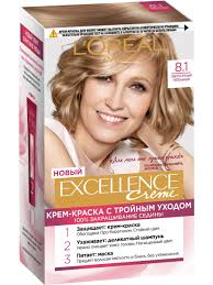 """<b>Стойкая крем-краска для</b> волос """"Excellence"""" L'Oreal Paris ..."""