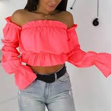 Buy <b>off shoulder</b> top and get free shipping on AliExpress