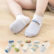 Spring & <b>Summer Mesh Thin Children's</b> Socks - hibobi