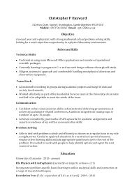 skill resume format   template   templateskill resume format
