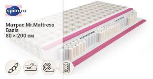 <b>Матрас Mr.mattress Basis</b> 80х200 см