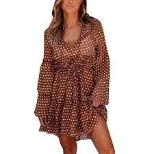 Looka33 <b>Women</b> Dress <b>Summer</b> Sexy Plus Size <b>Fashion</b> Chiffon ...