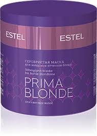 <b>Estel</b> Prima Blonde Серебристая <b>Маска для</b> холодных Оттенков ...