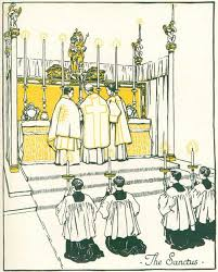 Image result for Sanctus in the mass