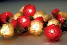beautiful lighting design for home decorative string lights by om gallery flower rose natural beautiful lighting