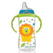 NUK, <b>Large Learner Cup</b>, <b>9</b>+ Months, Jungle Boy, 1 Cup, 10 oz (300 ...