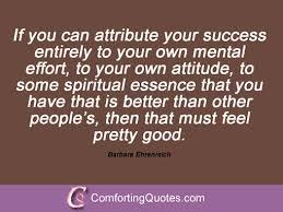 Sayings From Barbara Ehrenreich   ComfortingQuotes.com via Relatably.com