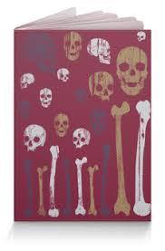 """Обложки для паспорта c особенными принтами """"Череп и кости ..."""