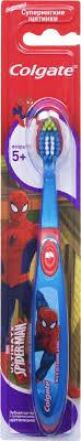 <b>Colgate Зубная щетка Smiles</b> Spiderman детская старше 5 лет, в ...