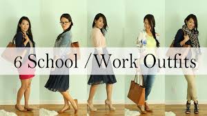 dress it yourself back to school work outfit ideas by dress it yourself 6 back to school work outfit ideas by anneorshine