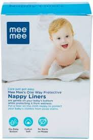 MeeMee One Way Protective Nappy Liners (100 Liners) - Buy Baby ...