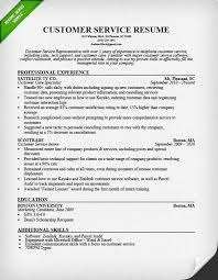 Customer Service Cover Letter Samples | Resume Genius customer-service-representative-resume-sample