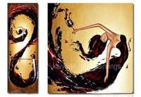 Wholesale Dancing <b>Girl</b> Canvas Painting for Resale - Group Buy ...