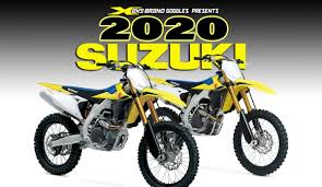 <b>SUZUKI</b> RELEASES 2020 MODELS | <b>Dirt Bike</b> Magazine