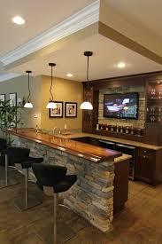 basement bar ideas stone basement bar lighting ideas