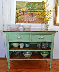 purposed dresser kitchen island photo