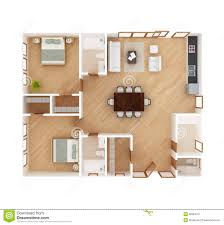 House Plan Top View Stock Image   Image  House plan top view