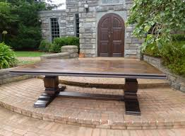 hand carved dining table timeless interior designer: grand refectory dining table parquetry top timeless interior
