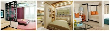 living room with bed:  beautiful bedroom with a living room interior