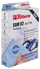 Купить <b>Filtero</b> Мешки-<b>пылесборники SAM 02</b> Экстра на Яндекс ...