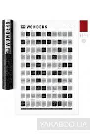 <b>Скретч</b>-<b>постер 1DEA.me</b> #100 Wonders (4820191130876 ...