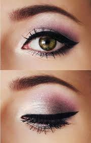 pink smooth eye makeup
