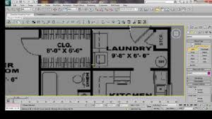 ds Max House Modeling Tutorial  Interior Building Model Design     ds Max House Modeling Tutorial  Interior Building Model Design Using Basic Plan   YouTube