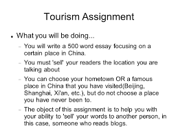 english composition online writing tourism and travel ppt 17 tourism assignment