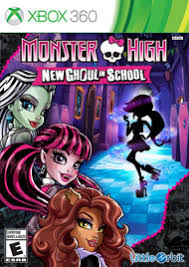 Monster High New Ghoul in School RGH Xbox 360 Castellano Mega