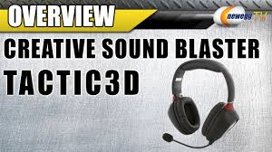 <b>Creative Sound Blaster Tactic3D</b> Rage Wireless Circumaural ...