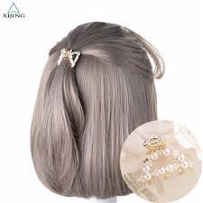Korea Fashion Pearl Hair Claw Inlaid Drill Grab Hair Accessories ...