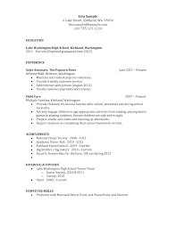 cover letter resumes for high school students job resumes for high cover letter resume template for high school student document templates online sample resume students no work