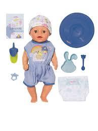 Игрушка My Little <b>BABY born</b> Нежное прикосновение Мальчик ...