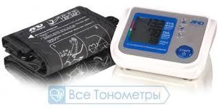 <b>Тонометр</b> AND <b>UA</b>-<b>1100</b> автоматический + Адаптер