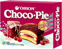 <b>Пирожное ORION Choco Pie</b> Cherry – купить в сети магазинов ...