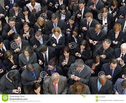 Image result for people looking at their phones