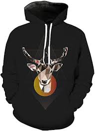 GM-Kenrisot <b>Men</b>/<b>Women 3D Hoodies</b> Print Forest Deer Animal ...