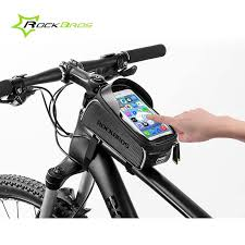 <b>ROCKBROS Cycling</b> Phone Bag <b>Touch</b>-<b>Screen</b> Waterproof Bag ...