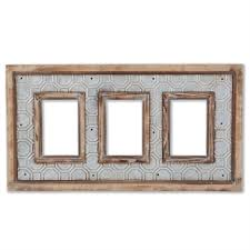 triple frame wall art