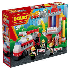 <b>Конструктор Bauer Fireman</b> 741 <b>Пожарная</b> вышка — купить по ...