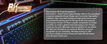 <b>RK ROYAL KLUDGE</b> Official Store - Small Orders Online Store on ...