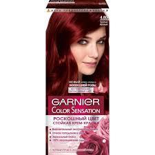 <b>Краска для волос Garnier</b> Color Sensation Роскошь цвета 4.60 ...