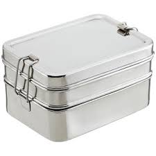ECOlunchbox <b>Stainless Steel</b> Rectangular 3-in-<b>1</b> Lunch <b>Box</b> | The ...