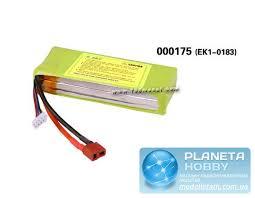 <b>Аккумулятор</b> 11.1V 1500mAh 3S 15C Lipo Pack (<b>E</b>-<b>Sky</b>, <b>EK1</b>-<b>0183</b> ...