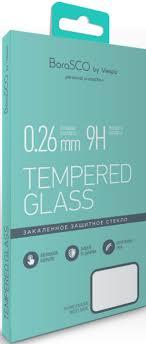 <b>Защитное стекло BoraSCO Full</b> Glue iPhone 7/8 Черная рамка ...