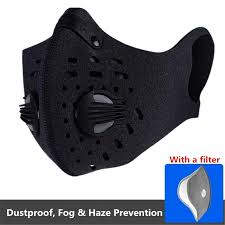 PM2.5 Dust Mask <b>Activated Carbon</b> Filter Mask Outdoor <b>Cycling</b> ...
