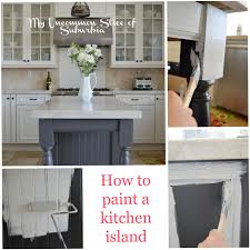 Painted Kitchen Painted Kitchen Island